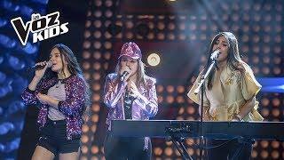 Helen, Isabella Y Tatiana Cantan Mujeres   La Voz Kids Colombia 2018