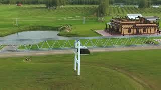 Юнибайк на ферменно путевой структуре SkyWay