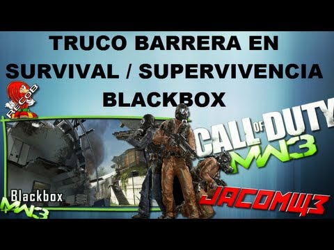 Truco MW3 Barrera en Survival BlackBox Habitacion Secreta - By JacoMw3 & ReCoB