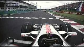 2007 French GP- Fernando Alonso start and course