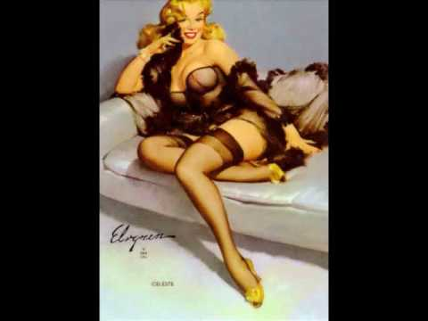 Pin-Up kaarten, Gil Elvgren and Earl Moran are two of my favorite..
