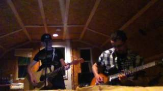 My brother Francis and I jamming some April Wine.
