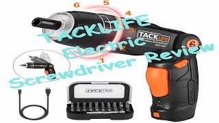 Tack Life SDH13DC Cordless Screwdriver Review