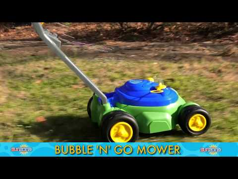 Youtube Video for Bubble 'N' Go Mower - With Mechanical Sound