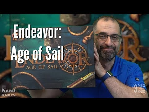 3 Things in 3 Minutes: Endeavor: Age of Sail Review