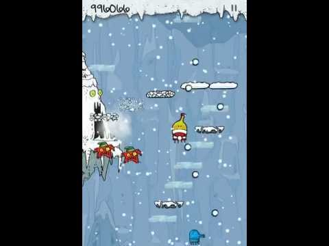 Doodle Jump Christmas Special - passing 1.000.000