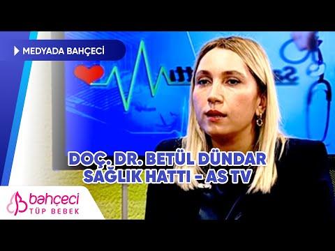 AS TV | Sağlık Hattı | Doç. Dr. Betül Dündar 06 Ocak 2020 | Bahçeci Tüp Bebek