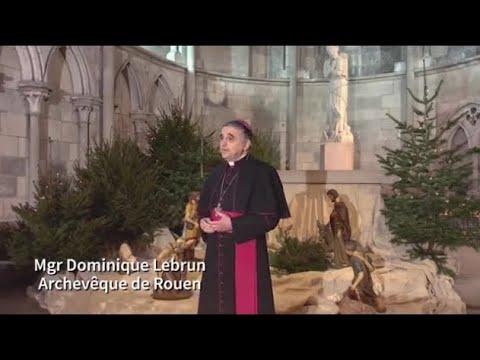 Mgr Dominique Lebrun : « Laissons-nous contaminer par cet Amour »