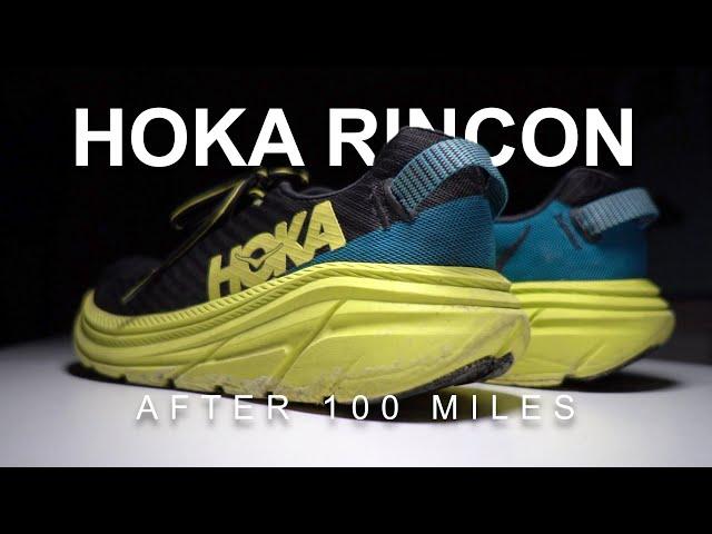 Hoka Rincon After 100 Miles