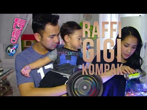 Raffi dan Gigi Lakukan Ini kepada Rafathar - Cumicam 21 April 2017
