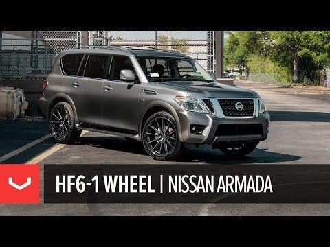 Vossen Hybrid Forged HF6-1 Wheel | Nissan Armada