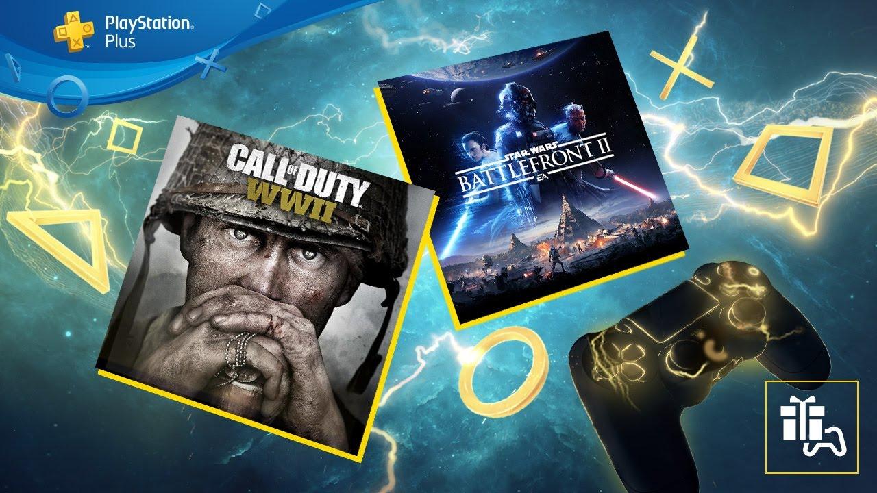 Eure PS Plus-Spiele für Juni: Star Wars Battlefront II und Call of Duty: WWII