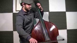 The James Bond Theme - Double Bass Solo