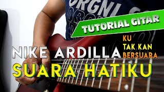 Tutorial Gitar Melodi Nike Ardilla - Suara Hatiku (Ku Tak Kan Bersuara) By Sobat P