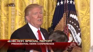 Pres Trump Press Conference (Feb 16 2017)  Questions