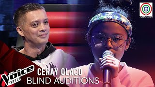 """Ceray Olaco fascinates Coaches with breathtaking """"Ikaw At Ako"""" cover.  To watch more videos visit:  http://entertainment.abs-cbn.com/tv/shows/thevoiceteens/main  Subscribe to the ABS-CBN's The Voice channel! http://bit.ly/TheVoiceTeensPhilippines  Watch the full episodes of The Voice Teens Season 2 on iWant for Philippine viewers, click:  http://bit.ly/TheVoiceTeensSeason2-iWant  For more updates visit our official website!  http://thevoice.abs-cbn.com/  Facebook: https://www.facebook.com/TheVoiceTeensABSCBN Twitter: https://twitter.com/TheVoiceABSCBN Instagram: https://www.instagram.com/TheVoiceTeensABSCBN  #TheVoiceTeensPH #TVTPH #VoiceMaTEENdi"""