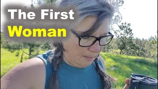 The  First White Woman in the Black Hills and a Stormy Night of RV Life