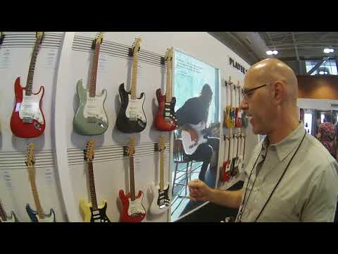 Summer NAMM 2018 - Fender Player Series