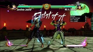JoJo's All Star Battle: Hamon Breath Experiment - HD