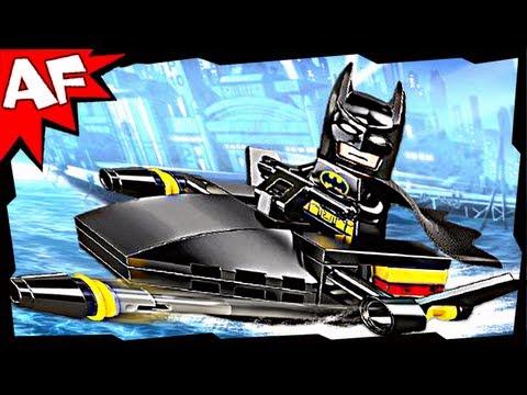 Vidéo LEGO DC Comics Super Heroes 30160 : Batman Jet Surfer (Polybag)
