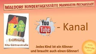preview picture of video 'Waldorfkita Mannheim Neckarstadt Eröffnung Gärtnerstrasse'