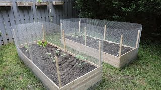 How To Build Raised Garden Beds DIY - Thrift Diving
