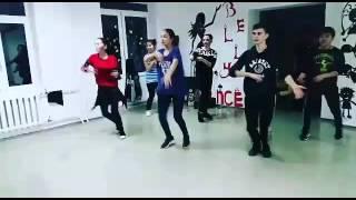 Легкая связка, танец хипхоп