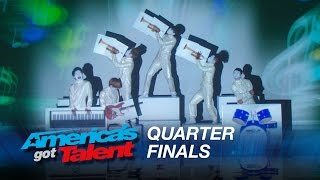 Siro-A: Dance Group Stuns with Visual Dance Experience - America's Got Talent 2015