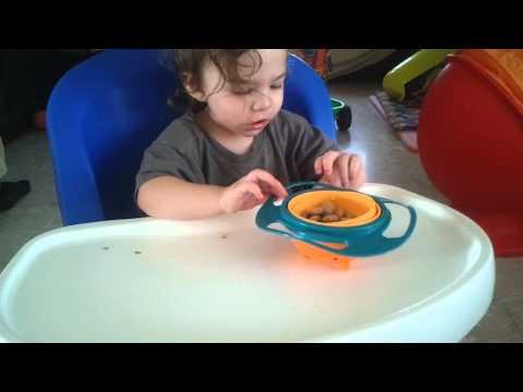 Baby vs gyro bowl - gyro bowl wins