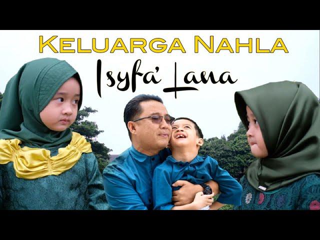 ISYFA' LANA (COVER) - AISHWA NAHLA KARNADI ft QEISYA & ABI NAHLA