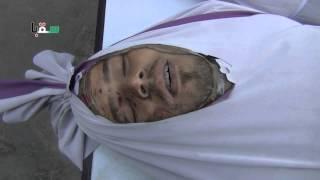 preview picture of video 'سقبا 24-06-2014 جثمان الشهيد أبو حيدر الحلبي من مدينة حلب '