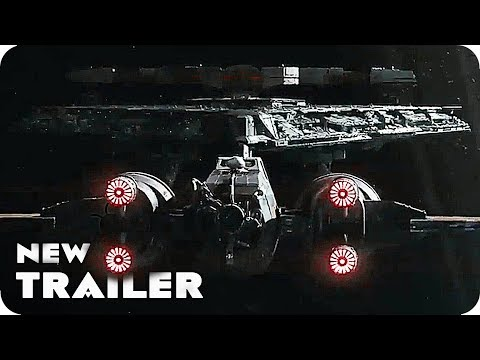 Star Wars 8: The Last Jedi Trailer 'New Star Destroyer Attack' (2017)