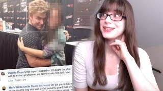 Vic Mignogna Fired For Hugs And FAKE Allegations