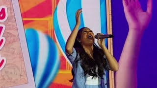 IS THAT HIGH ENOUGH?! MORISSETTE AMON took the last note higher singing NEVER ENOUGH   SYKES PARTY