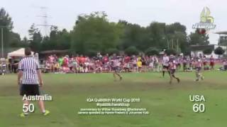Quidditch World Cup 2016 - Final - Australia vs. USA