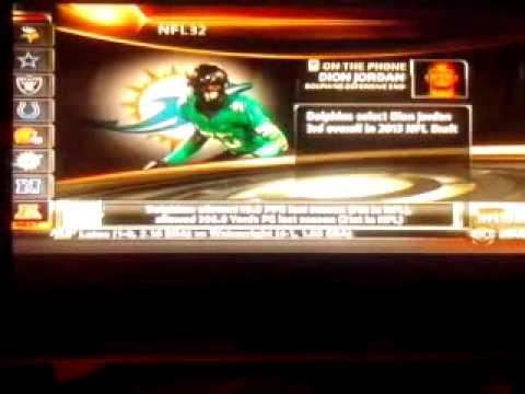 Dion Jordan phone interview today on ESPN NFL32