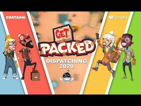 Annonce exclusivité Stadia de Get Packed
