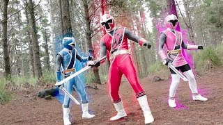 Power Ranger Ninja Steel | Primera Transformacion de los rangers