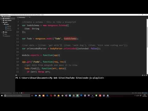 Node JS Tutorial for Beginners #37 - Making a To-do App (part 6)