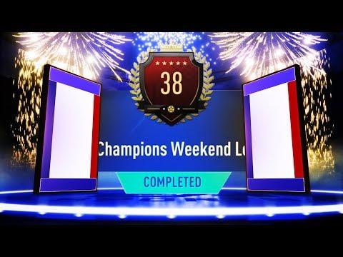 2X 30-0 TOP 100 LIGUE 1 TOTS FUT CHAMPIONS REWARDS! INSANE PACKS! #FIFA19 ULTIMATE TEAM