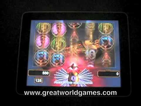 Video of King's Tomb Video Slot Machine