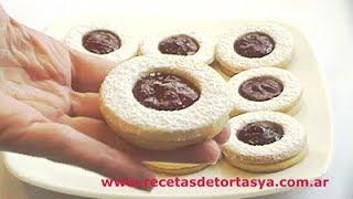 Galletitas Lunettes - Ojitos de Buey - Recetas de Tortas YA!