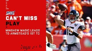 The Minshew Magic is Real ✨Leads to Armstead's 1st NFL TD!