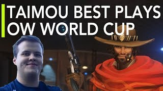 Best Plays of Taimou | Overwatch World Cup 2017 Highlights ft. Widowmaker McCree & Soldier 76