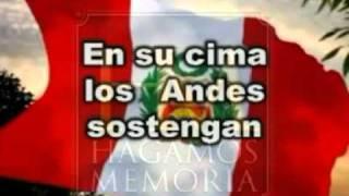 Himno Nacional del Perú - Sexta estrofa - OFICIAL