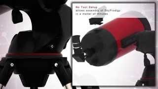 Celestron SkyProdigy 6 Telescope Tour