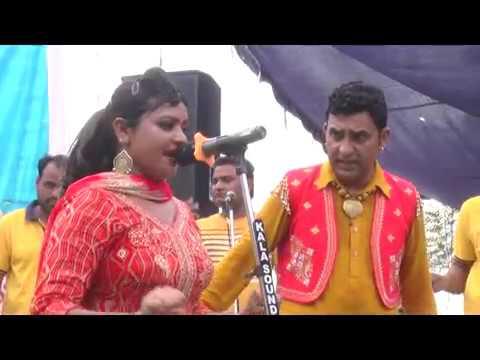 harjit sidhu parveen dardi live ਸਿੱਧਾ ਕਹਿ ਵੇ  ਬੁਲੇਟ ਤੇਰੇ ਵਿੱਚ ਤੇਲ ਨਹੀ  26-7-18 || Rooh Punjab Di