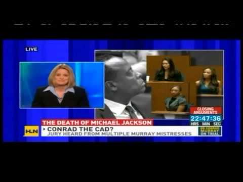 Meg Strickler on HLN discussing Conrad Murray and Michael Jackson death on 11/2/11