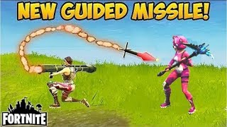 *GUIDED MISSILE IS BACK!* BEST PLAYS! - Fortnite Funny Fails and WTF Moments! #275