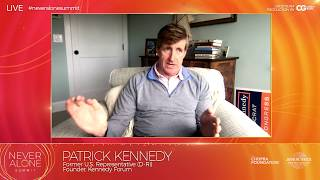 Patrick Kennedy at Never Alone Summit